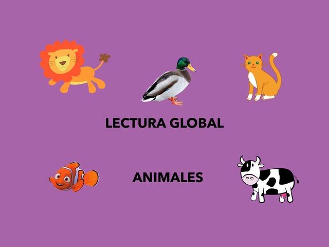 Lectura Global. Animales by Francisca Sánchez Martínez