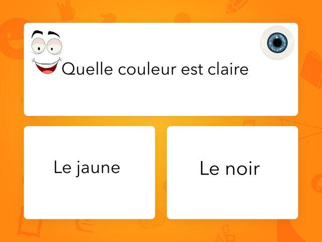 Jeu Des Couleurs by Mme Mialaret
