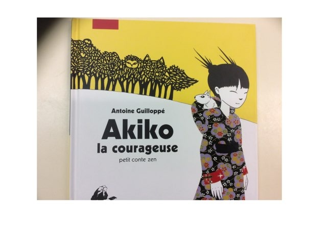 Lecture Akiko La Courageuse by Ludivine Werner