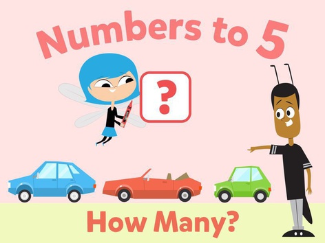 Numbers To 5: How Many? by Math Learning Plan
