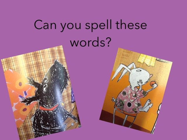 Phonics example game  by Cale Green