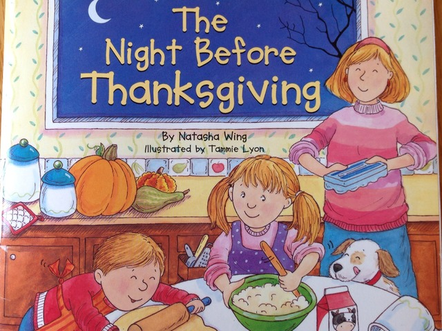 The Night Before Thanksgiving by Lori Board