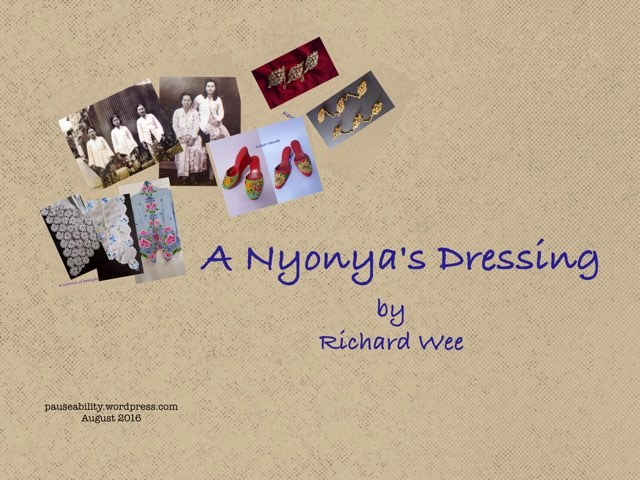 A Nyonya's Dressing by Moses Sia