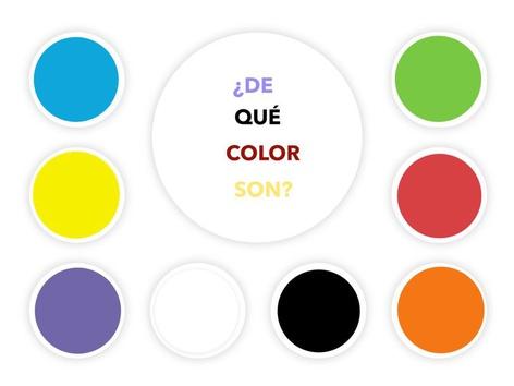 ¿DE QUÉ COLOR SON? by Jose Sanchez Ureña