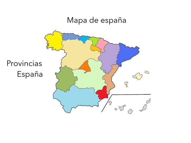 Provincias De España by Pablo Illescas Navarro