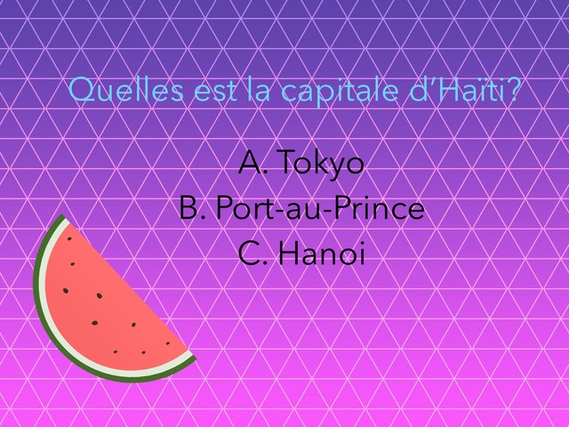 Haiti!! by French Class