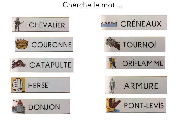 Cherche Mots by Ecole Lamartine