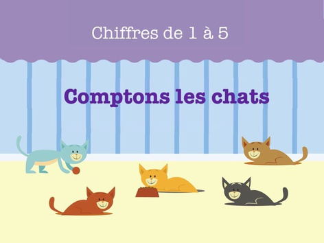 Comptons les chats. 1 by Miss Humblebee