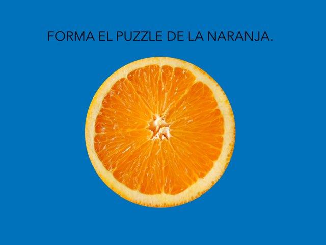 PUZZLE DE UNA NARANJA. by Ana Beatriz García Medina