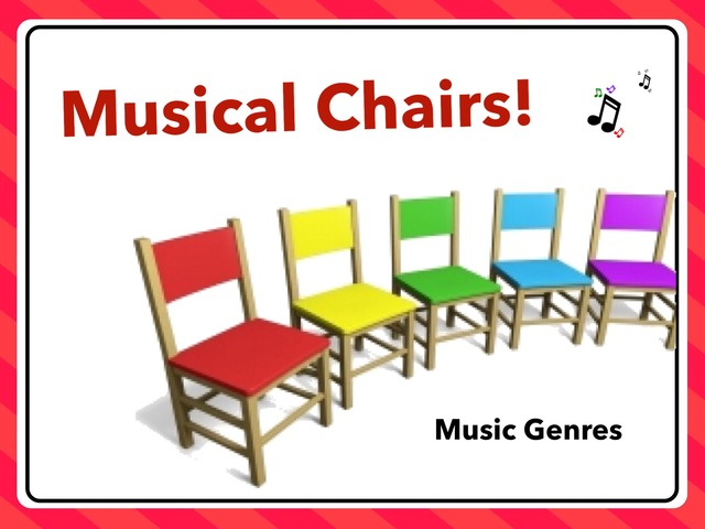 Musical Chairs-Music Genres by A. DePasquale
