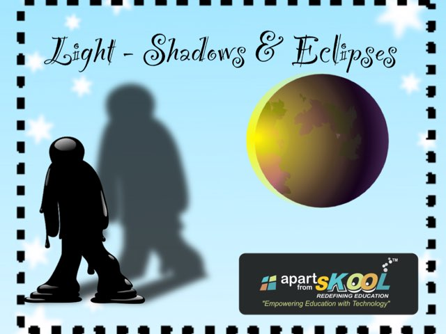 Light Shadow & Eclipse by TinyTap creator