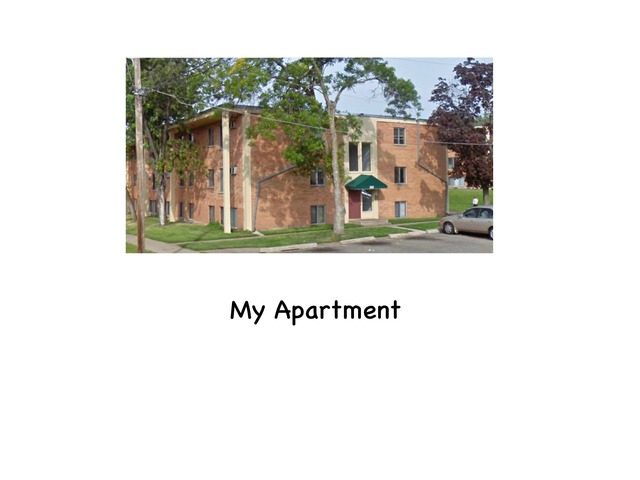 My Apartment  by Rebecca Jarvis