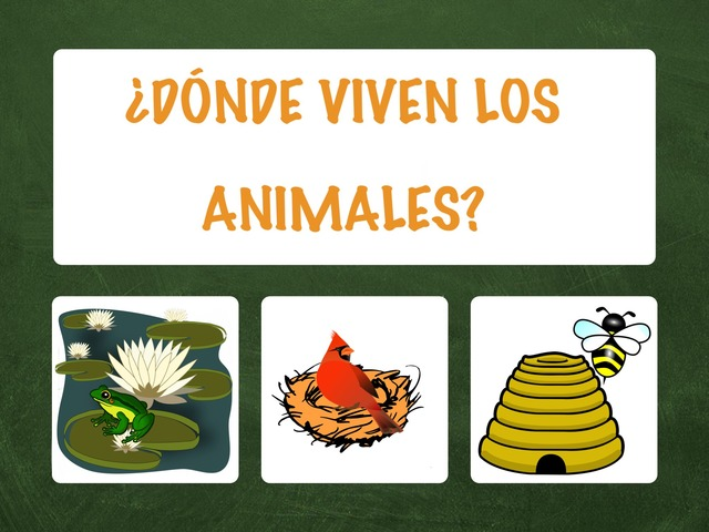 ¿Dónde Viven Los Animales? by Hadi  Oyna