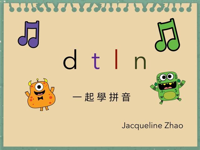 一起學拼音-Jacqueline Zhao  by Hui Ling Zhao