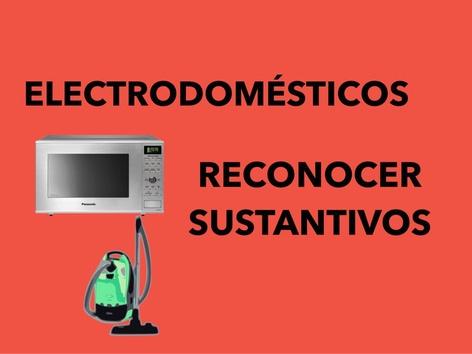 Electrodomésticos.Reconocer Sustantivos by Francisca Sánchez Martínez