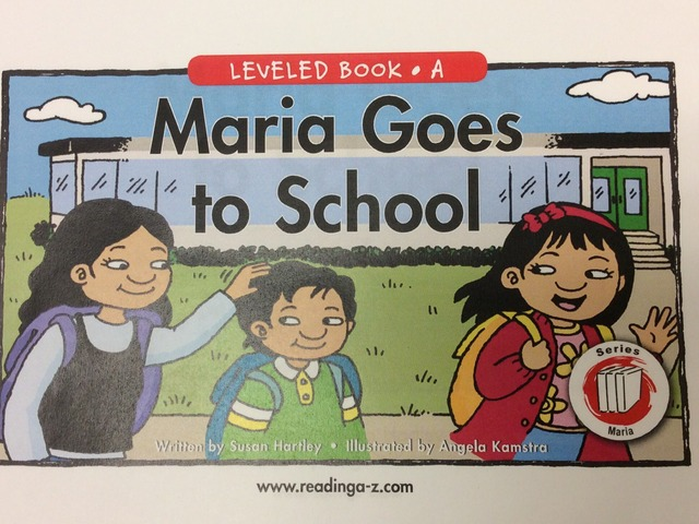 Maria Goes to School  by Justin Heid