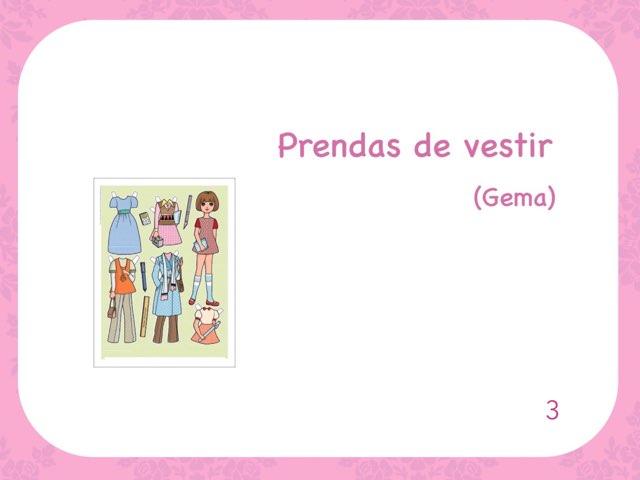 Prendas De Vestir Gema (3) by Zoila Masaveu