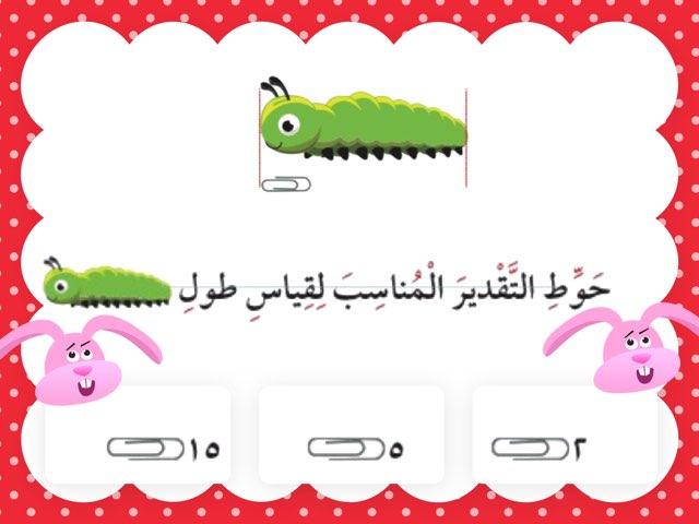 تقدير الطول by bashayer alazmi