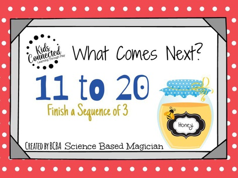 What Comes Next 11-20:Jam Edition Type In by Kids  Connected