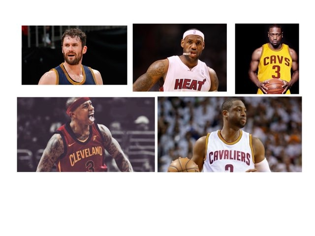 The Cleveland Cavaliers by Aimee Cummins