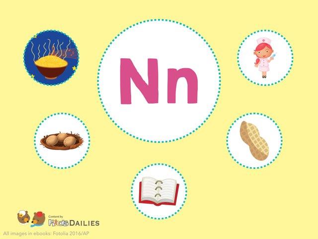 Nn  by Kids Dailies