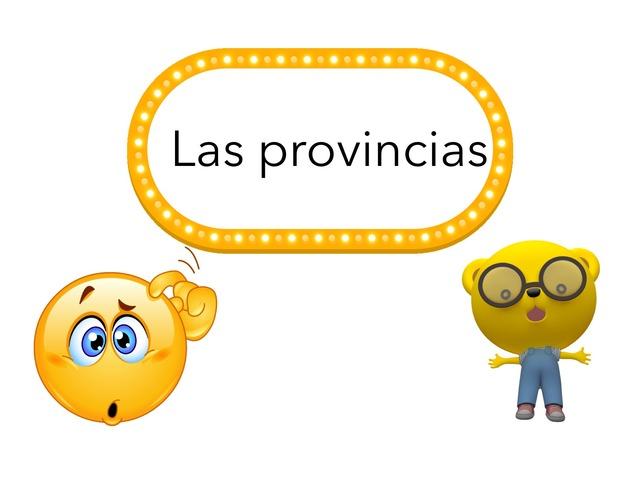 Provincias de España by Alvaro Ballesteros, Escalante