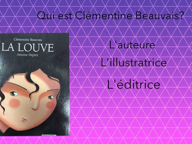 """Jeu """"La louve"""" créé par Inès, Alyssa et Lorena #devinincos by Mélanie Cornet"""