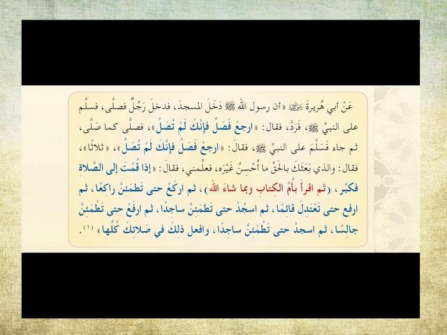 اركان الصلاة by حنين علي