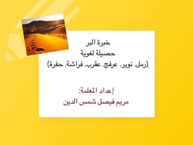 حصيلة البر by Mariam Shamsaldeen