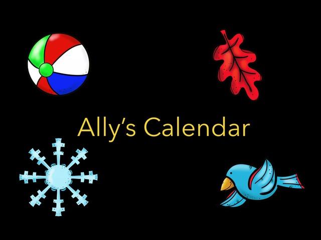 Calendar by MaryAnne Roberto