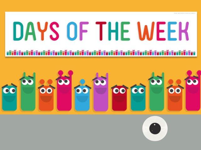 Days Of The Week by Hawazen Abdulla