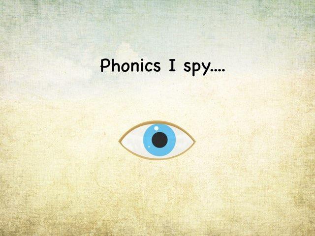 Phonics I Spy by Kate Dalton