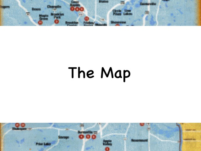The Map by Rebecca Jarvis
