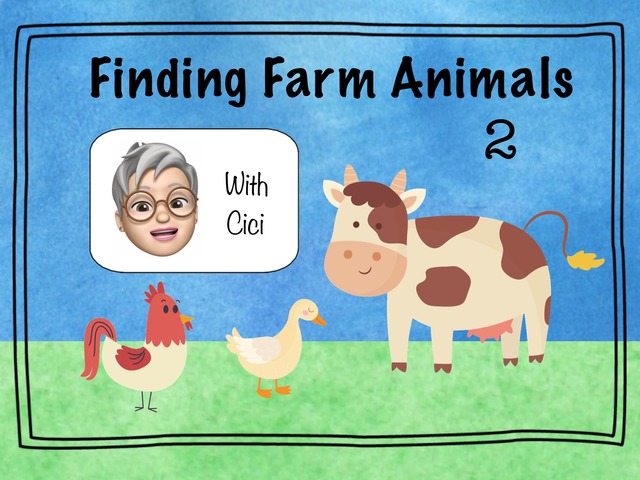 Finding Farm Animals 2 by Cici Lampe
