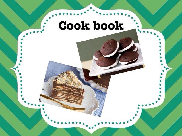 Gabi and Luiza Cook Book by Cecilia Marinho