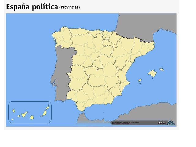 Provincias Sociales by Carlota Asensi Bohorquez