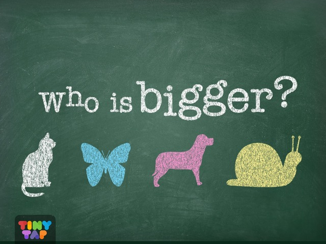 Who Is Bigger? NEW by Tiny Tap