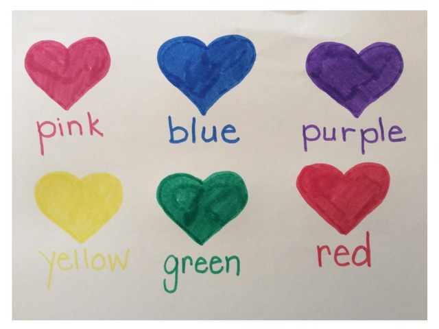 Color Heart Matching by Joanna Keim