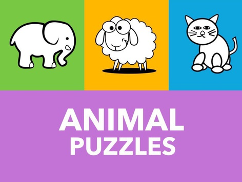 Animal Puzzles (EN UK) by Puzzle Land