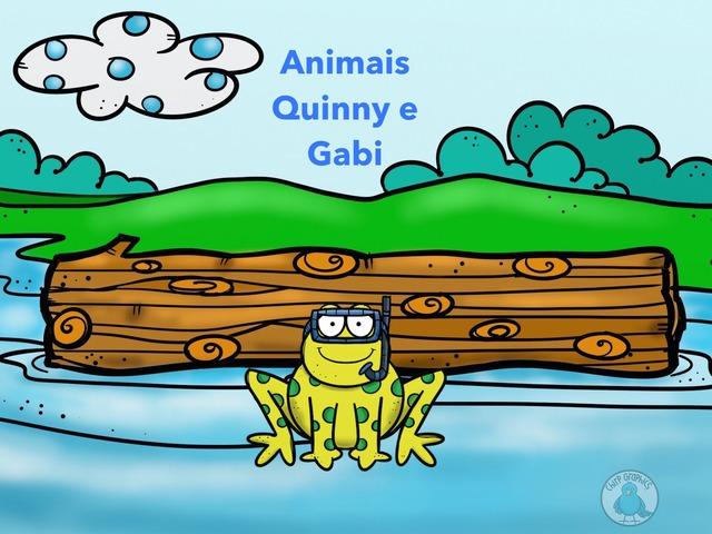 Animais Quinny e Gabi by Isabel Mello Daud