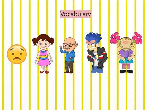 Vocabulary  by Andrea Herradón