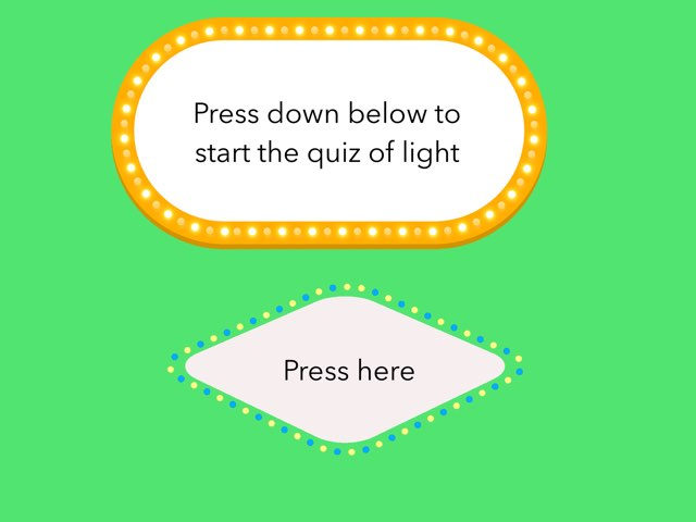 Light Quiz by Mr Parkinson