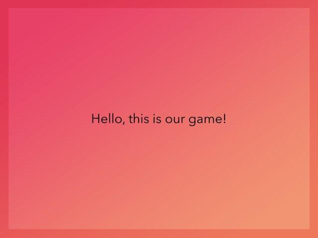 Game 4 by Brittney Zieller