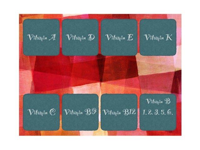 Vitamin Pre Quiz by Marisa Hodges