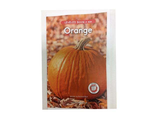 Orange Book by Justin Heid