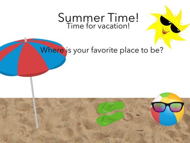 Summer Time! by Kate Li