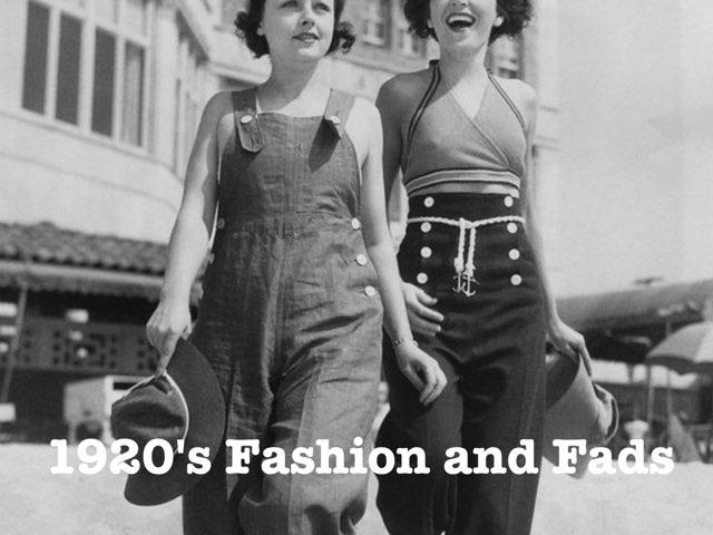 1920's Fashion by Leila Janney