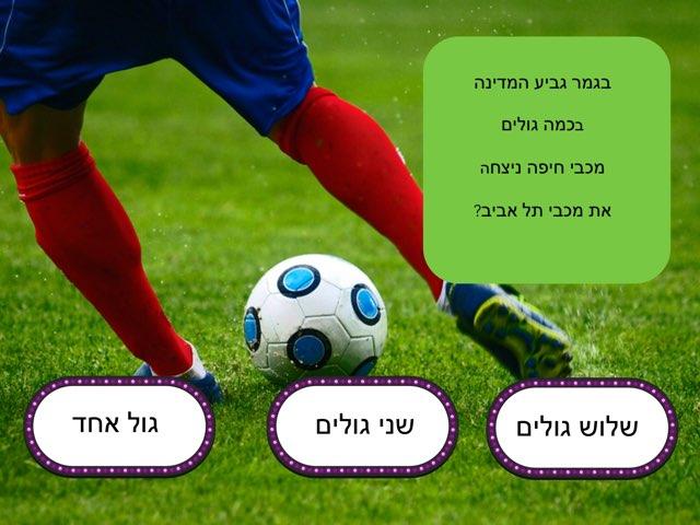 נמרוד מכבי חיפה by בית ספר קישון