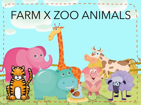 Farm X Zoo Animals by Thais Baumgartner
