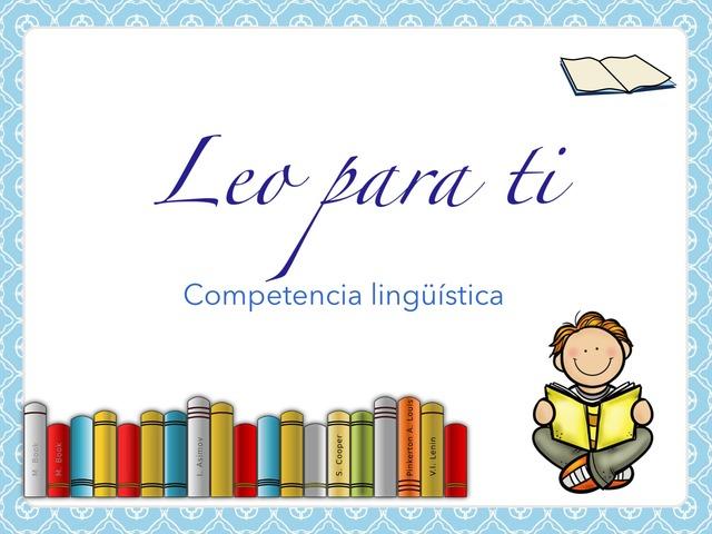 Leo para ti I by Jose Sanchez Ureña